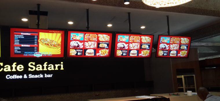 Neo Media digital menu boards
